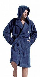 L&L Company Homme Peignoir de Chambre Ceinture et Capuche Longueur Genoux de la marque L-L-Company image 0 produit