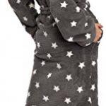 L&L Peignoir de Bain Veste d'Intérieur à Capuche Femme LL0106 de la marque LL image 1 produit