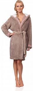 L&L Robe de Chambre à Capuche Veste d'Intérieur Femme LL0022 de la marque LL image 0 produit