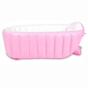 L&Y Baignoire Baignoire Gonflable de bébé de Nouveau-né de Bain d'isolation de Baignoire Gonflable Grande de bébé de bébé d'enfants (Couleur : Pink) de la marque L&Y image 0 produit