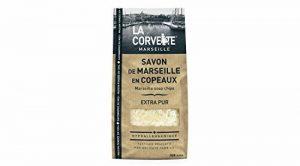 La Corvette Sachet de Savon de Marseille en Copeaux Extra Pur Ecocert 750 g de la marque La Corvette image 0 produit