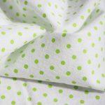 Langes en molleton bébé | Lot de 4 | 80 x 80 cm | Qualité supérieure - motif zèbre, double tissage, bordure renforcée, certifié Öko-Tex Standard 100, lavable à 60° C de la marque Makian image 4 produit