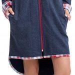 LEVERIE Peignoir de Bain/Robe de Chambre/Homewear Femme avec Capuche Moelleux de la marque LEVERIE image 2 produit