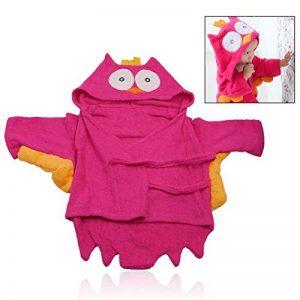 LHKJ 100% Coton Peignoir Hibou pour Enfants, Plage Capuche Serviette Soirée de Bain pour Bébé de la marque LHKJ image 0 produit