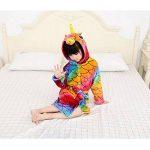 Licorne À Capuche Peignoir Robe de Chambre De Flanelle Garçons Filles Vêtements De Nuit Enfants Pyjama Automne Hiver de la marque XINNE image 3 produit