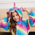 Licorne Peignoir pour Enfants Fille Garçon avec Capuche Vêtements De Nuit Pyjamas Robe de Chambre Serviette Doux 2-11Ans de la marque PENGMAI image 3 produit