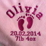 linge personnalisé bébé TOP 1 image 4 produit