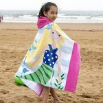 Litthing Cape de Bain pour Enfant Peignoir de Bain à Capuche Serviette de Bain Sortie de Bain en Coton Mignon Super Douce Comfortable de la marque Litthing image 4 produit