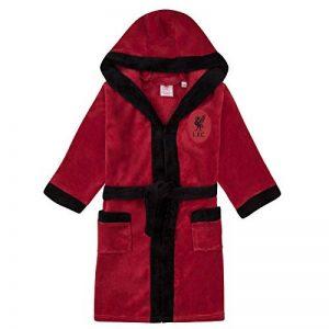 Liverpool FC Officiel - Robe de Chambre à Capuche thème Football - Polaire - garçon de la marque Liverpool-F-C image 0 produit