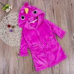 Loalirando Peignoir Animaux avec Capuche Robe de Chambre Hiver Chaud pour Enfant Garçon/Fille 1-6 Ans de la marque Loalirando image 4 produit