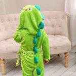 LOLANTA Robe de Chambre Garçon Peignoir de Bain Robe de Nuit Enfants éléphant de Dinosaure,Cadeau d'anniversaire de la marque LOLANTA image 2 produit