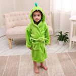 LOLANTA Robe de Chambre Garçon Peignoir de Bain Robe de Nuit Enfants éléphant de Dinosaure,Cadeau d'anniversaire de la marque LOLANTA image 3 produit
