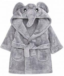 Lora Dora Peignoir de bain Robe de chambre Bébé Filles Garçons Fantaisie Avec capuche Animal 3D Taille 6–24mois de la marque Lora-Dora image 0 produit