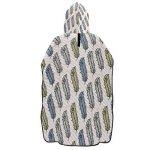 LORONA Peignoir à Capuche pour Homme et Femme Motif Plume de Paon Séchage Rapide de la marque LORONA image 1 produit