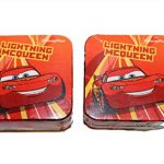 Lot de 2 gants de toilette pour enfant cARS waschfleck 30 x 30 cm de la marque Disney image 1 produit