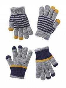 Lot de 2 paires de gants garçon de la marque Vertbaudet image 0 produit