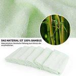 Lot de 6 gants de toilette super doux 25/25 cm bébé 100% coton de bambou de la marque FUTURE-FOUNDER image 1 produit