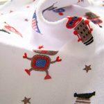 Lot de 8Gants de Toilette en mousseline de naissance d'allaitement en coton doux Serviettes de la marque Busy Mom image 4 produit
