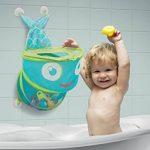 LUDI - Grand filet de rangement pour les jouets de bain. Fixations ventouses solides. Panier de basket pour la douche - réf. 40002 de la marque Ludi image 1 produit
