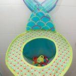 LUDI - Grand filet de rangement pour les jouets de bain. Fixations ventouses solides. Panier de basket pour la douche - réf. 40002 de la marque Ludi image 2 produit