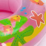 Lukis Bouée Anneau Bain Gonflable avec Écran Solaire Flottant Forme Champignon pour Siège De Bain Swim Bébé 0-6 Ans de la marque Lukis image 3 produit