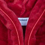 Lumaland peignoir de luxe robe de chambre en microfibre avec capuche et poches pour femme et homme différentes tailles et couleurs de la marque Lumaland image 2 produit