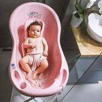 LUPPEE Baignoire pour Bebe, Baignoire Bébé sur Pied, Antiderapant Baignoire, 100cm, Chien et Chat, Rose de la marque LUPPEE image 3 produit