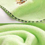 LuuBoes Lot de 3 Serviettes de Bain Ultra absorbantes 100% Coton Doux pour bébé de la marque LuuBoes image 2 produit