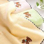 LuuBoes Lot de 3 Serviettes de Bain Ultra absorbantes 100% Coton Doux pour bébé de la marque LuuBoes image 3 produit