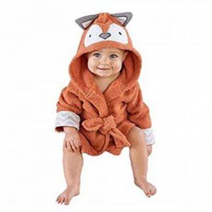 Mainaisi Bébé Serviette De Bain Animé Capuche Plage Peignoir 16 Couleurs (Little Fox) de la marque Mainaisi image 0 produit