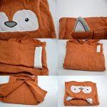 Mainaisi Bébé Serviette De Bain Animé Capuche Plage Peignoir 16 Couleurs (Little Fox) de la marque Mainaisi image 1 produit