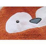Mainaisi Bébé Serviette De Bain Animé Capuche Plage Peignoir 16 Couleurs (Little Fox) de la marque Mainaisi image 3 produit