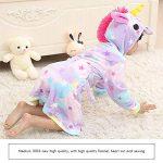 Mallalah Peignoir Licorne pour Filles Garçons Flanelle Pyjamas Chemises de Nuit De Dessin Animé Animal Domestique À Capuche de la marque Mallalah image 2 produit