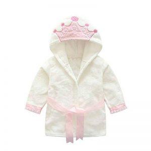 Mamum Hiver Peignoir de bain à Capuche Serviette de bain pour Bébé (67 blanc, 110(2-3Ans)) de la marque Mamum image 0 produit