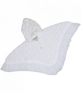 Manteau bébé Poncho Cardigan à Capuche en Maille 0-23 Mois de la marque BabyPrem image 0 produit