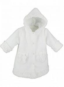 Manteau Blanc bébé Fille pour baptême cérémonie de la marque Boutique-Magique image 0 produit