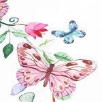 Manyo Emmaillotage Bébé photo, Couverture Photographie Bébé en Coton Polyester- Papillon, Accessoire Bébé Photographie Langes Emmaillotage Bébé 100 x 100 cm de la marque Manyo image 4 produit