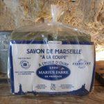 Marius Fabre - Savon de Marseille Brut à la Coupe 1kg à l'Huile d'Olive de la marque Marius-Fabre image 1 produit