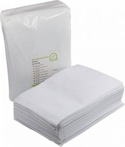 Medi-Inn, une fois à laver Gants de Toilette à usage unique en molleton, Lot de 50 de la marque Medi-Inn image 0 produit