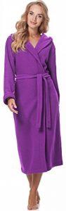 Merry Style Peignoir de Bain avec Capuche Robe de Chambre Femme 3S4R3N4 de la marque Merry-Style image 0 produit