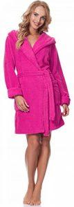 Merry Style Peignoir de Bain Robe de Chambre avec Capuche Femme 1GN2S de la marque Merry-Style image 0 produit