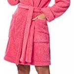 Merry Style Peignoir de Bain Robe de Chambre avec Capuche Femme 1GN2S de la marque Merry-Style image 2 produit