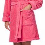 Merry Style Peignoir de Bain Robe de Chambre avec Capuche Femme 1GN2S de la marque Merry-Style image 3 produit