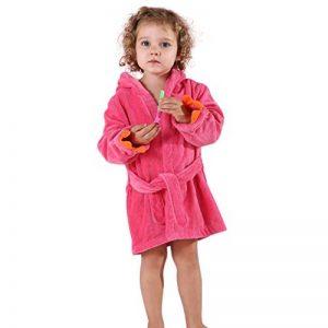 MICHLEY BéBé Peignoir Coton Encapuchonné Serviette Animal Dinosaure Style Filles Doux Dormeur de la marque MICHLEY image 0 produit