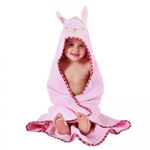 MICHLEY BéBé Peignoir Coton Mignonne Visage d'animal Hooded Enfant Serviette Peignoir de Bain pour garçons Filles de 0-6 Ans de la marque MICHLEY image 0 produit