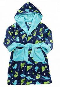Minikidz Garçons Robe de Chambre en Molleton imprimé Dinosaure de la marque Minikidz image 0 produit