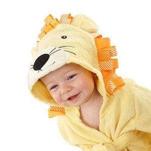 Minuya Bébé Garçon/Fille Mignon Animal Doux Peignoir en Coton Capuche Serviettes de Bain pour Bébé … de la marque Minuya image 0 produit