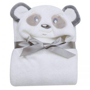 Missbleu Sortie de Bain a Capuche Animaux-Peignoir de Bain Bebe Serviette Couverture Drap de Bain Bebe Panda de la marque MissBleu image 0 produit