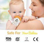 Mitaine de Dentition Liname pour Bébés avec Jouet de Dentition - Gant de Dentition sûr (sans BPA), Lavable et Durable (Teething Mitten) de la marque Liname image 2 produit