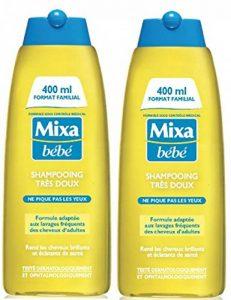 Mixa Bébé Shampoing Très Doux 400 ml - Lot de 2 de la marque Mixa image 0 produit